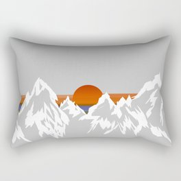Sunset in the Appalachian Mountains Rectangular Pillow