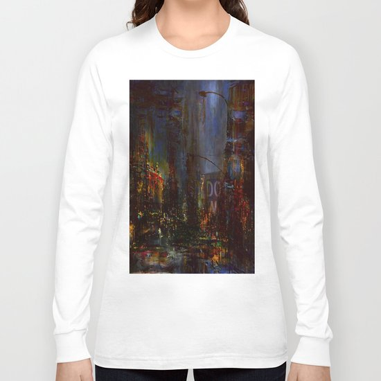 The Night Has a Thousand Eyes Long Sleeve T-shirt