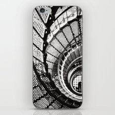 Spiral staircase black and white iPhone & iPod Skin