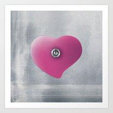 Heart by Art Print