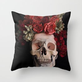 Vanitas Throw Pillow