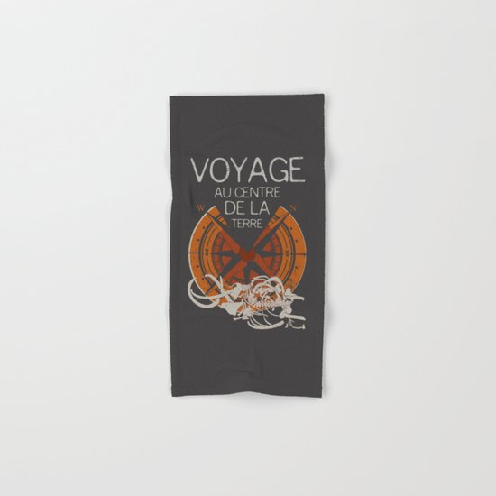 Books Collection: Jules Verne Hand & Bath Towel