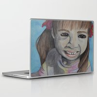 mia wallace Laptop & iPad Skins featuring Mia by Kristy Holding