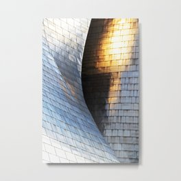 Scales of light Metal Print
