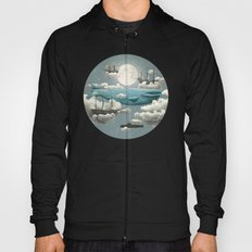 Ocean Meets Sky - colour option Hoody