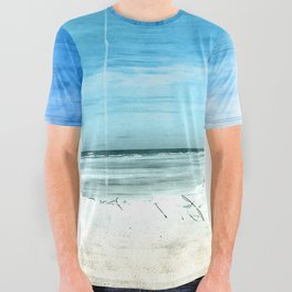 the beach All Over Graphic Tee
