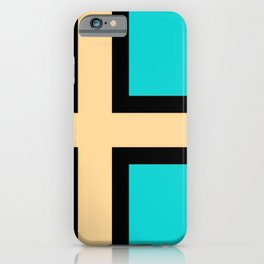 flag of norway - with inverted colors iPhone Case