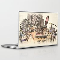 architect Laptop & iPad Skins featuring To Be An Architect by Andrew Preble
