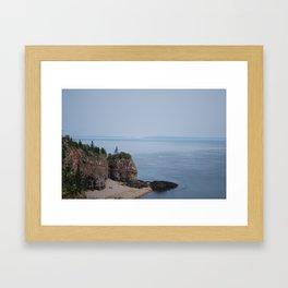 Cape D'or Framed Art Print
