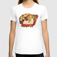 T-shirts featuring Puglie Pizza by Puglie Pug