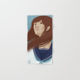 Serafuku Girl Hand & Bath Towel