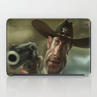 rick grimes iPad Cases featuring Rick Grimes from 'The Walking Dead'. by Alexander Novoseltsev
