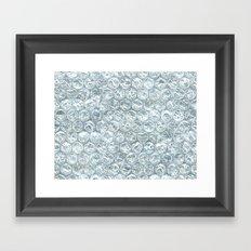 bubble wrap! Framed Art Print