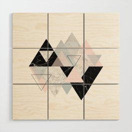 TileGlam Wood Wall Art