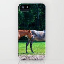 Pasture Friends iPhone Case