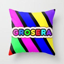 Grosera Throw Pillow