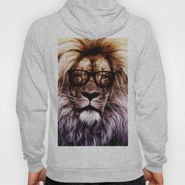 Lion Hipster art Hoody