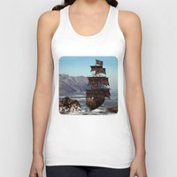pirate ship Tank Tops featuring Pirate Ship by Simone Gatterwe