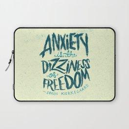 Kierkegaard on Anxiety Laptop Sleeve