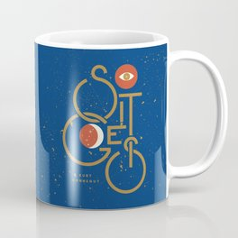 """So It Goes"" — Kurt Vonnegut Coffee Mug"