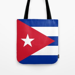 National flag of Cuba - Authentic version Tote Bag