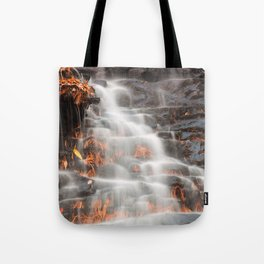 Shades of Death Waterfall Tote Bag