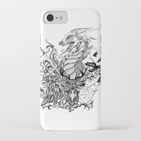 thrones iPhone & iPod Cases featuring Game of Thrones by Ink Tales
