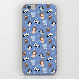 The jungle animals pattern iPhone Skin