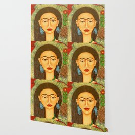 My homage to Frida Wallpaper