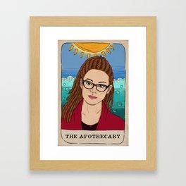 Cosima Niehaus Tarot Card Framed Art Print