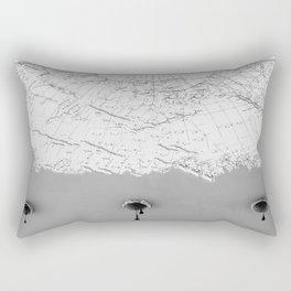 Draining Alaska Rectangular Pillow