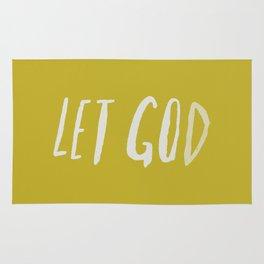 Let God x Mustard Rug