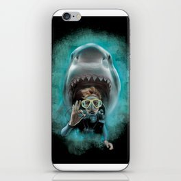 Shark! iPhone Skin