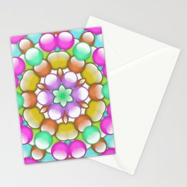gum drops Stationery Cards