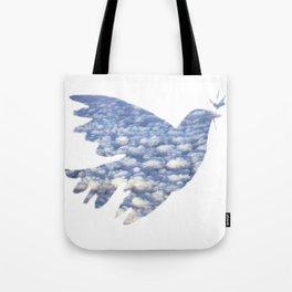 clouddove Tote Bag