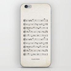 Black Birds iPhone & iPod Skin