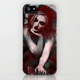 Red Four iPhone Case