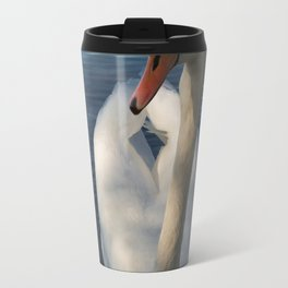 White Swan Beauty Travel Mug