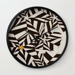 The Rising Star Wall Clock