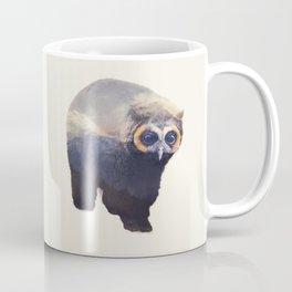 Owlbear in Mountains Coffee Mug