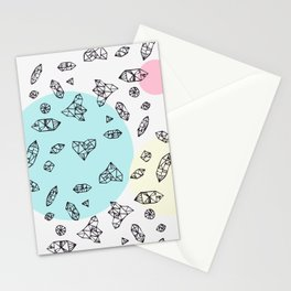 you are my geometric desire... Stationery Cards