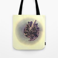 chicago Tote Bags featuring Chicago by Valerie Manne
