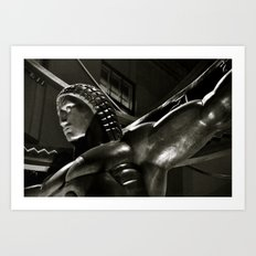 Life in Art Deco Art Print