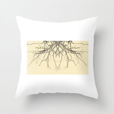 branches#04 Throw Pillow