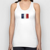 france Tank Tops featuring France by Arken25
