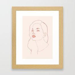Oh Darling Framed Art Print