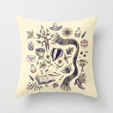 Hufflepuff, Loyal and True Throw Pillow