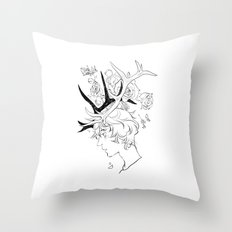 Cupid's Crown Throw Pillow