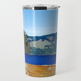 Lone Arbutus, Mid Afternoon Stoney Hill Travel Mug