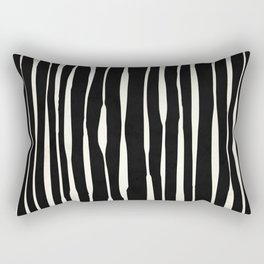 Retro Stripe Rectangular Pillow